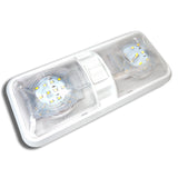 LED Double Dome Light Ceiling Fixture