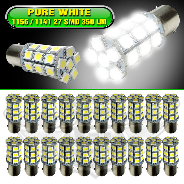 80% Lower power consumption then incandescent bulbs 12VDC Replacement bulb for RV, camper, trailer, Boat and Auto. led to replace interior/exterior rv light Leuisre Rv Parts