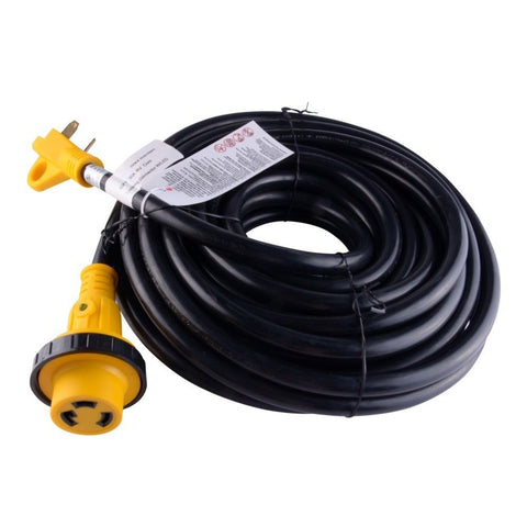 50FT Foot 30A Amp RV Extension Cord Trailer