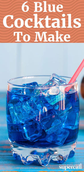 Feeling Blue? Don't be...It's the WEEKEND have a blue drink instead