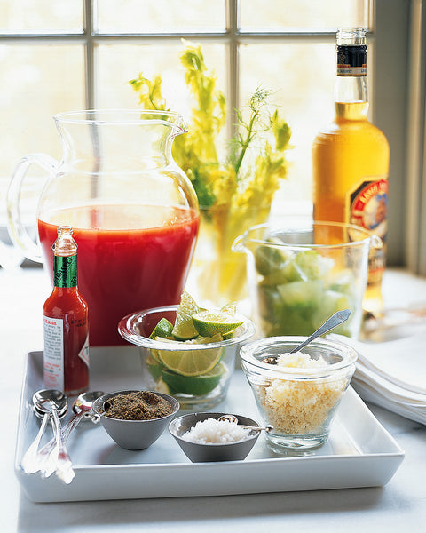 Danish Mary with Celery Ice Recipe