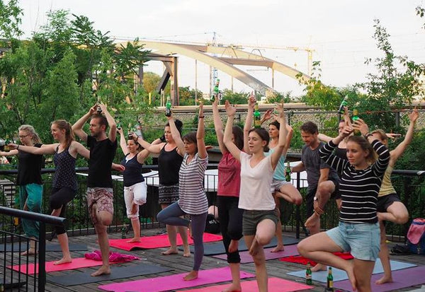 Beer Yoga....need we say more?