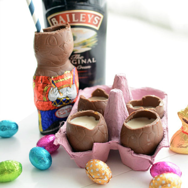 Easter Drink Recipes - Cadbury Creme Egg Cocktails