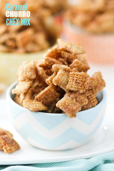 Caramel Churro Chex Mix Recipe - The Ultimate Party Chex Mix