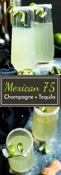 The Mexican 75....Tequila & Champagne
