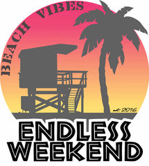 Women's Beach Vibes Endless Weekend Sun-Shirt UPF25