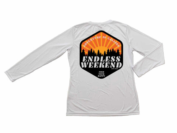 Adventure is Calling Women's Long Sleeve Sun-Shirt UPF25