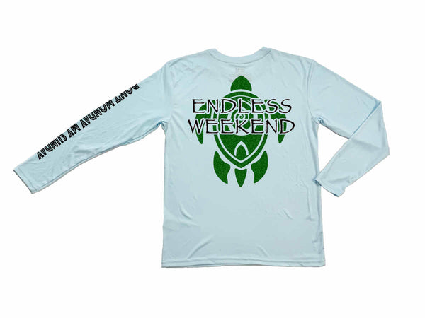 Youth Sea Turtle Long Sleeve Sun-Shirt SPF50