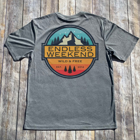 WILD AND FREE MOUNTAINS T-SHIRT