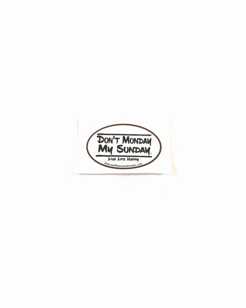 DMMS Live Life Happy - Small Tumbler Sticker