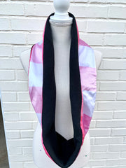 Silk / Fleece Infinity Scarf