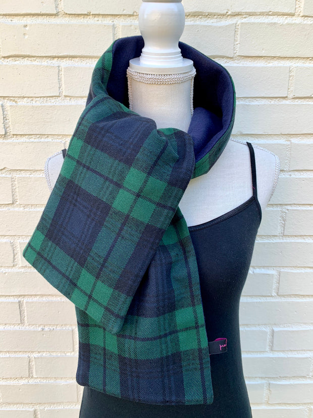 Flannel / Fleece Straight Scarf