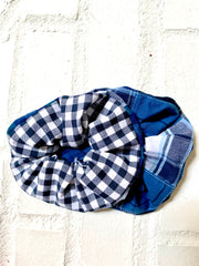 NEW Dual Fabric Scrunchie