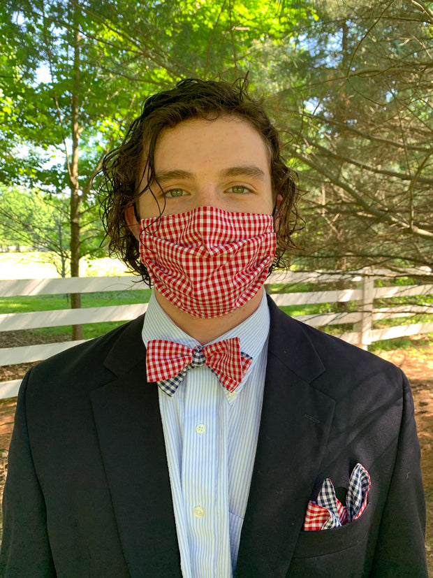 Bow Tie/Pocket Square/ Mask