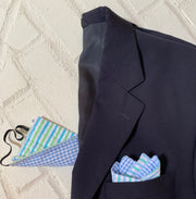 Pocket Square and Matching Mask