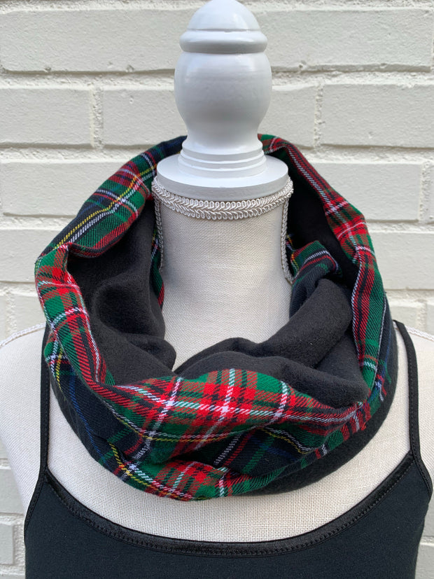 Flannel / Fleece Infinity Scarf