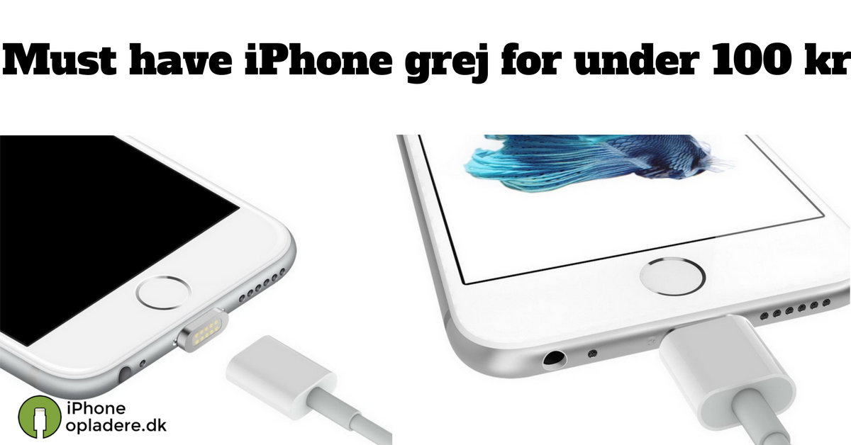 Must have iPhone grej for under 100 kr.