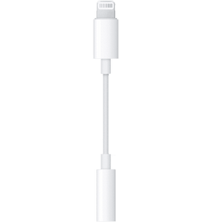 Apple Lightning til Jackstik (3,5 mm AUX) - MMX62ZM/A