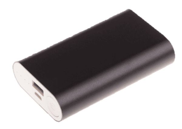 Sort GreyLime Powerbank til Smartphone