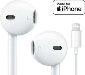 Originale Apple MFi Earpods til iPhone med Lightning stik