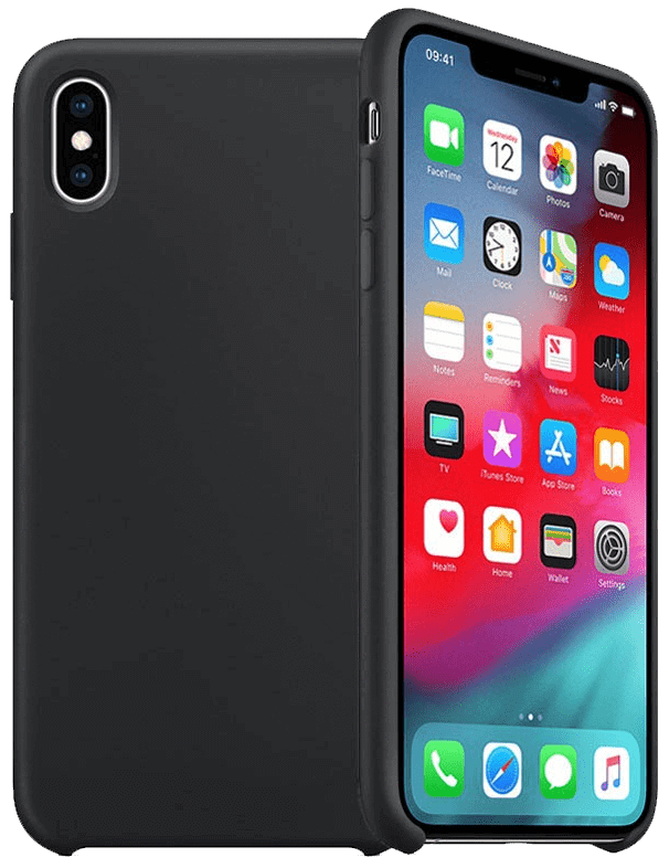 Image of   iPhone Silikone Cover - Sort