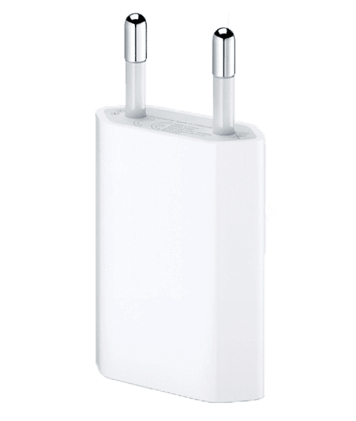 Image of   iPhone USB-Adapter 5W, til stikkontakt