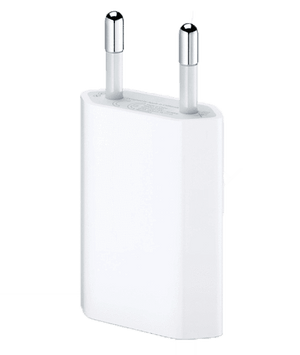 iPhone USB-Adapter 5W, til stikkontakt