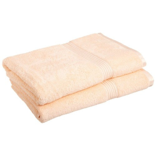 Modern Egyptian Cotton 2pc Bath Sheet Set