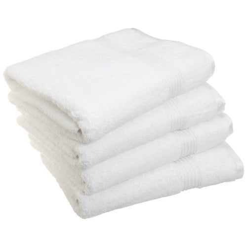 Modern Egyptian Cotton 4pc Bath Towel Set
