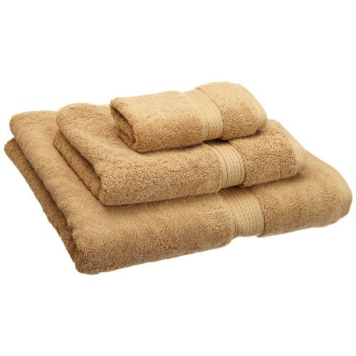 Modern Thick Egyptian Cotton 3pc Towel Set