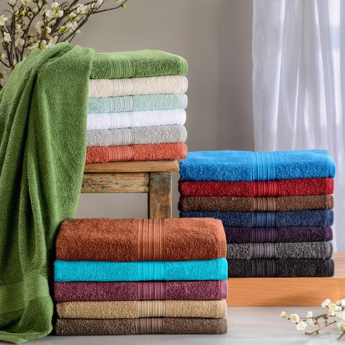 Eco Friendly 2-Piece Cotton Bath Towel Set