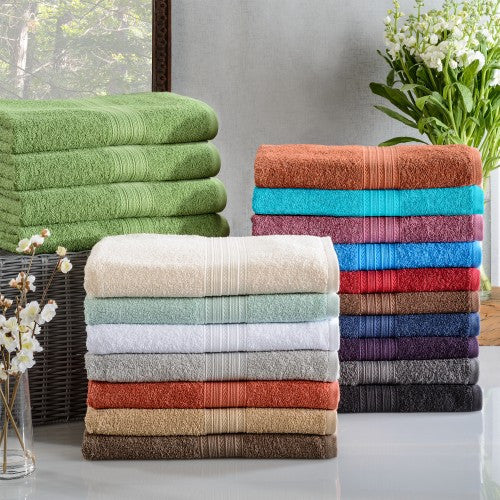 Eco Friendly 4-Piece Cotton Bath Towel Set