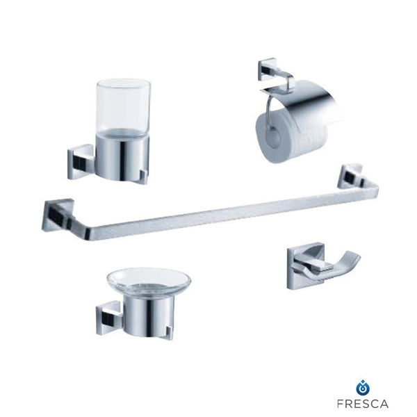 Glorioso 5 Piece Bathroom Hardware Set