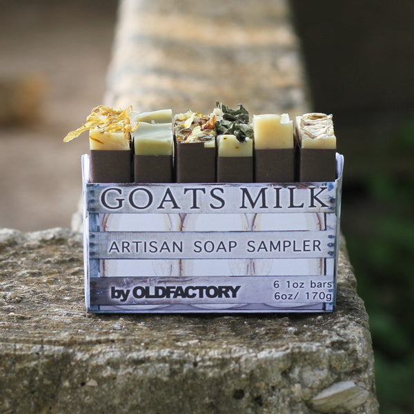 Goats Milk Artisian Soap Sampler