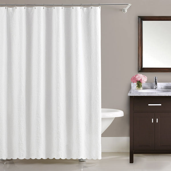 Majestic Cotton Shower Curtain