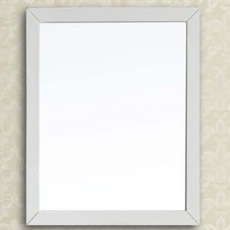 Contemporary Solid Wood Frame Mirror