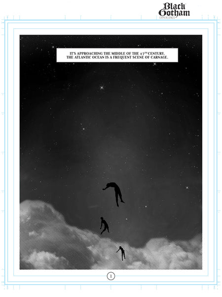 Limited Edition Signed Graphic Novel Page Print
