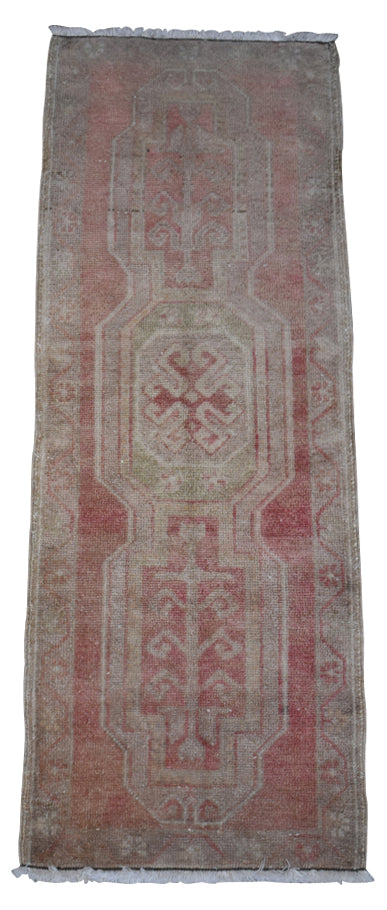"Vintage Turkish Baby Rug-#3-1'6""x4'3"""