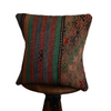"Turkish Kilim Pillow 16x16""-#92"