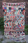 "Vintage Moroccan Azilal Rug-Pink Lady 3'8""x6'2"""