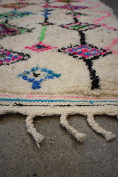 "New Moroccan Azilal Rug-Altai-3'8""x5'2"""