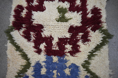 "Vintage Moroccan Talsint Rug-Pumice 2'4""x5'4"""