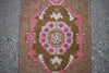 "Vintage Turkish Baby Rug-#24-1'6""x3'"