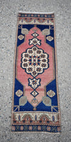 "Vintage Turkish Baby Rug-#27-1'3""x3'10"""
