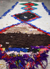 "Vintage Moroccan Talsint Rug-Shale- 2'6""x7'7"""