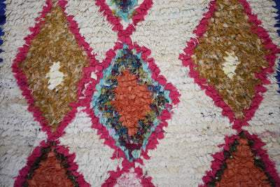 Vintage Moroccan Azilal Rug-Wasatch