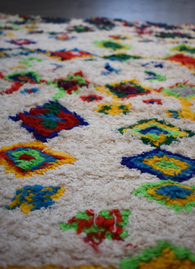 Vintage Moroccan Azilal Rug-Western Ghats