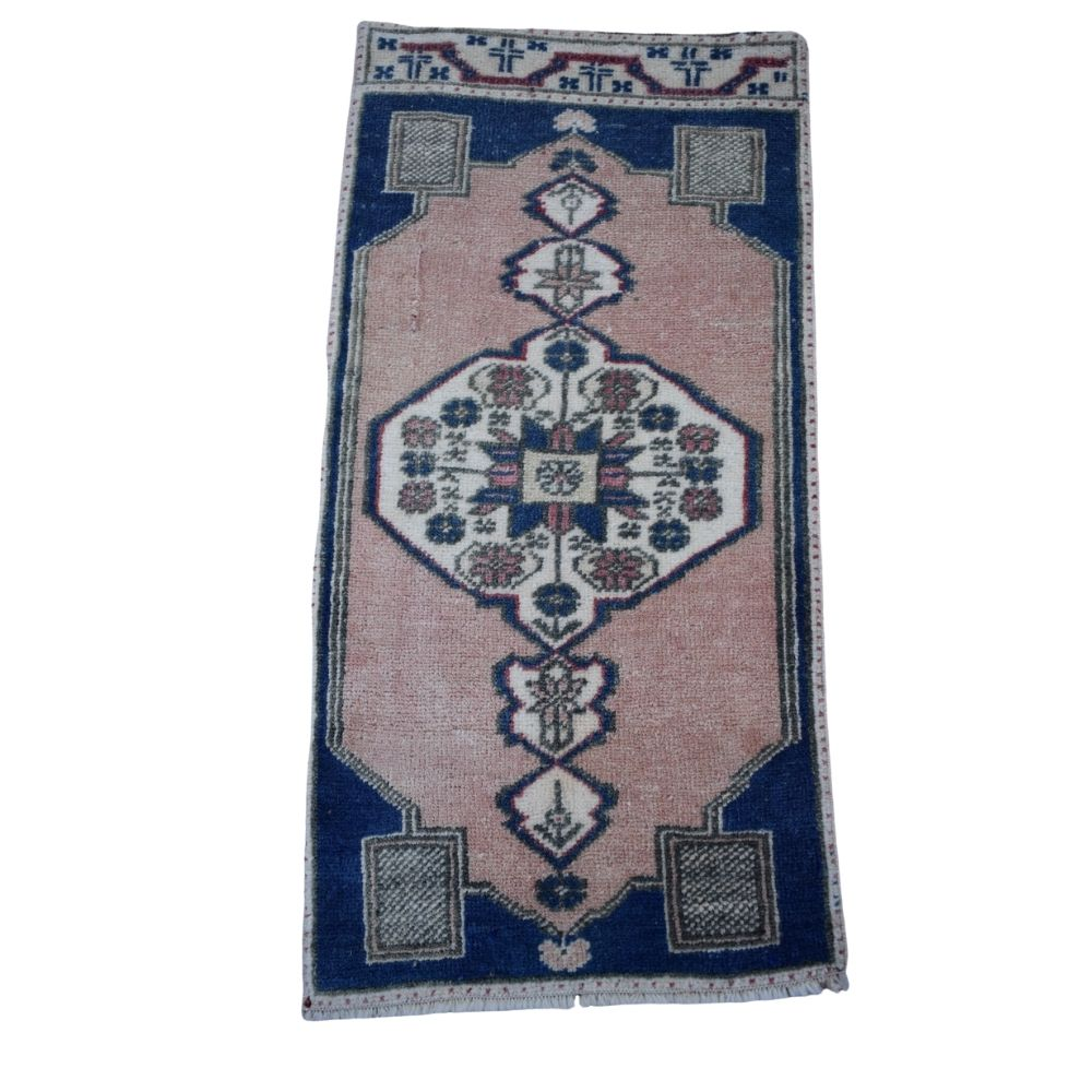 "Vintage Turkish Baby Rug-#65-1'5""x2'11"""