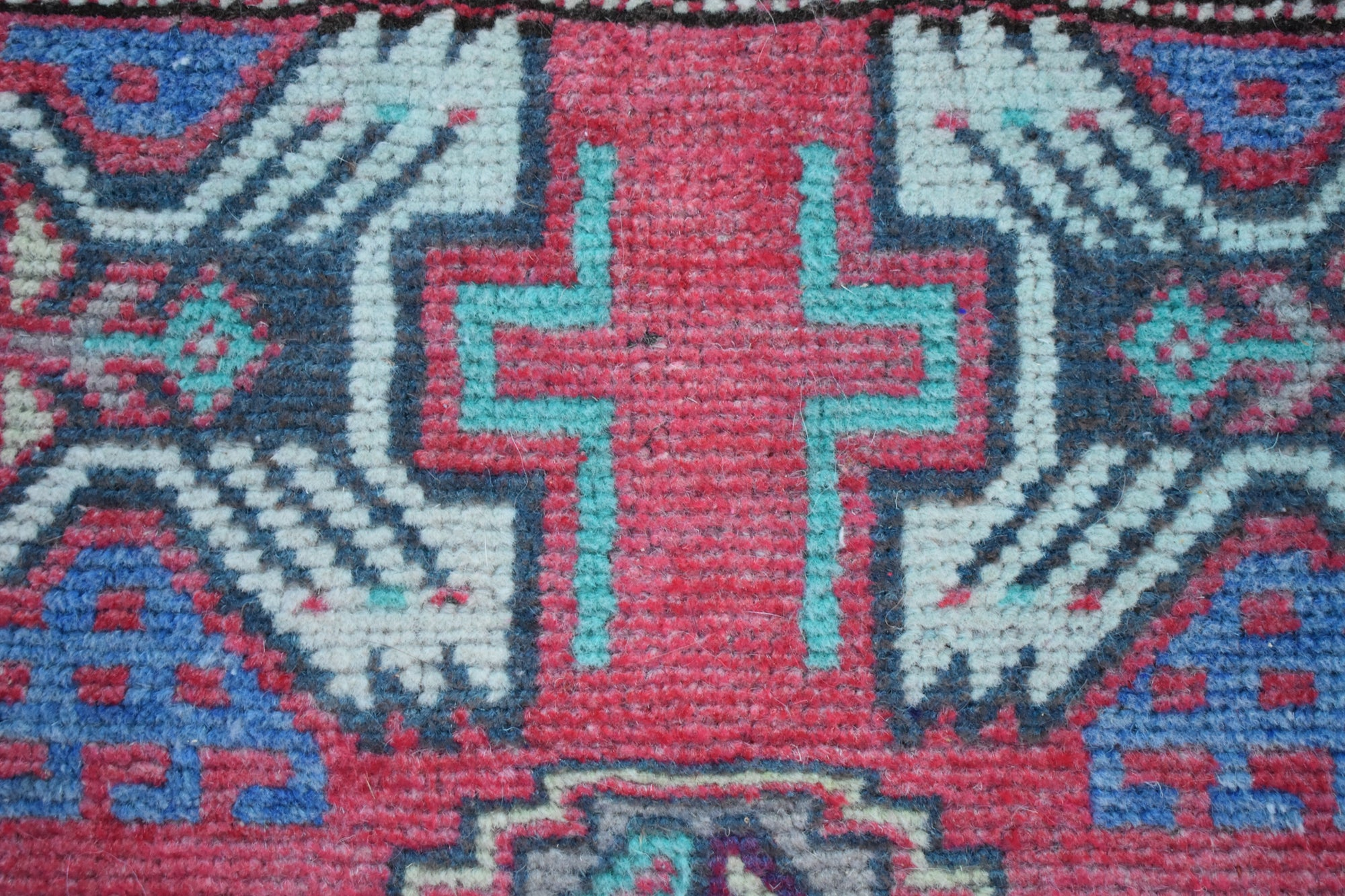 "Vintage Turkish Baby Rug-#1-1'6""x3'1"""