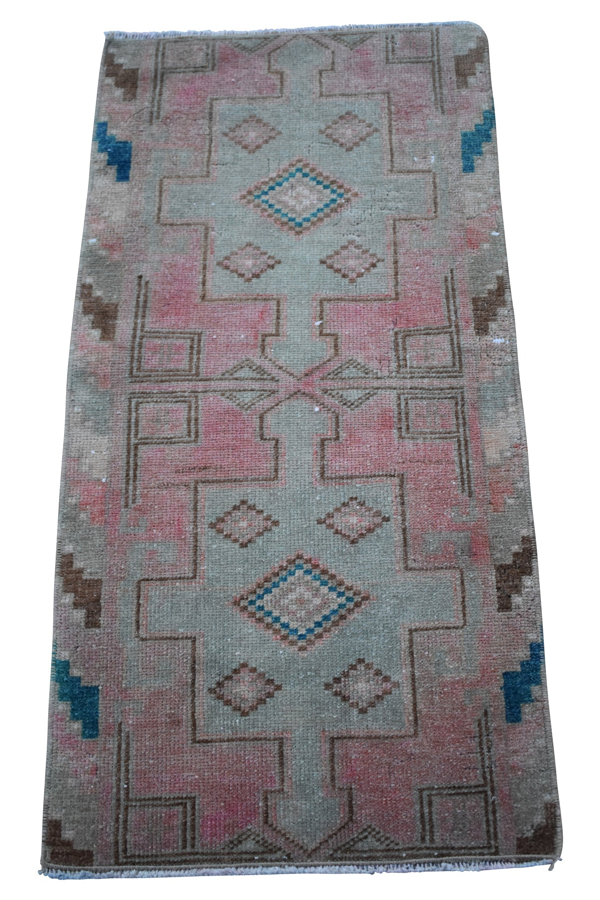 "Vintage Turkish Baby Rug-#11-1'5""x2'10"""